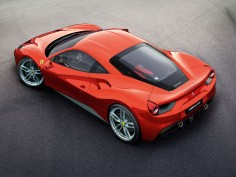 Ferrari unveils the mid-rear-engined 488 GTB