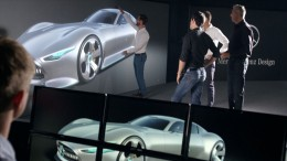 Mercedes-Benz AMG Vision Gran Turismo Concept - Design review with Virtual Reality