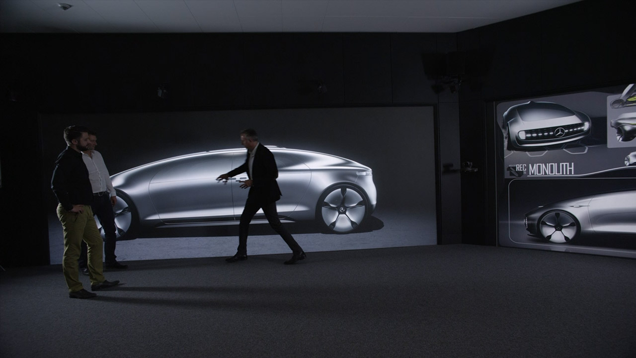 Mercedes Benz F 015 Luxury In Motion Virtual Reality Car