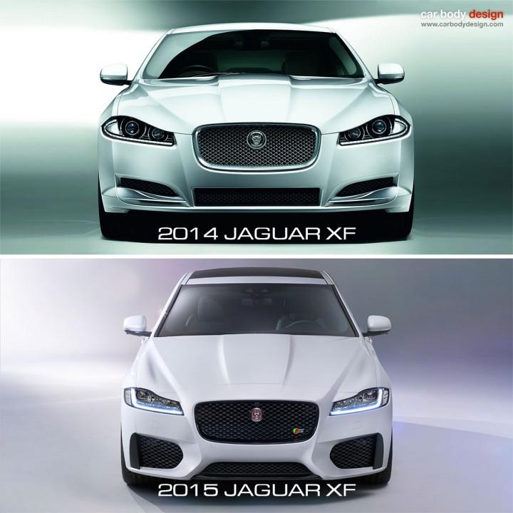 2015 Xf Jaguar: Jaguar Unveils The New XF