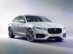 Jaguar unveils the new XF