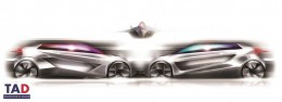 Audi R 02 Concept   Design Sketches by Amilcar Celis from TAD