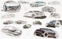 Car Design Sketches by Alexey Semenov