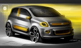 Fiat Uno Concept   Design Sketch Rendering Marco Gianotti