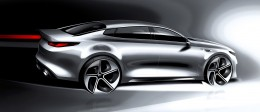 Kia Optima - Design Sketch Render