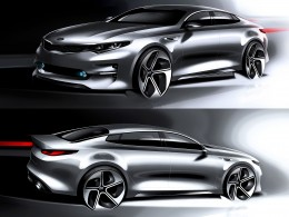 Kia next-gen Optima - Design Sketches