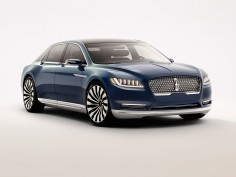 Lincoln Continental Concept hints at 2016 full-size sedan