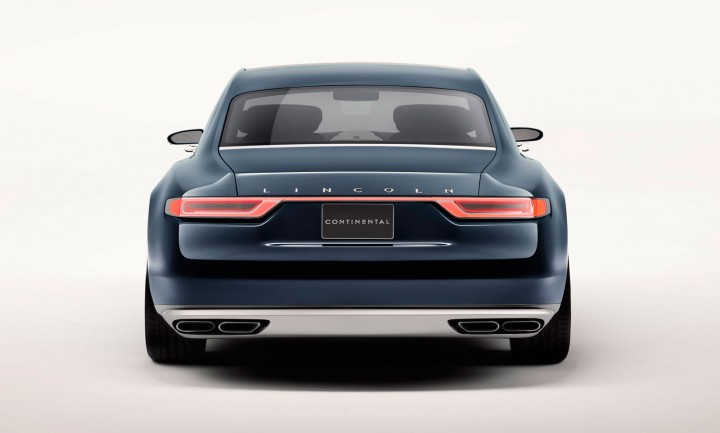 lincoln continental concept hints at 2016 full size sedan. Black Bedroom Furniture Sets. Home Design Ideas