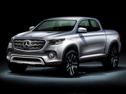 Mercedes-Benz Pickup Design Sketch