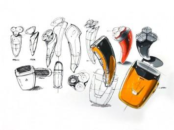 Product Idea Design Sketching Demo - Car Body Design