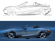 Quick-Sideview-car-sketch-and-render-tutorial