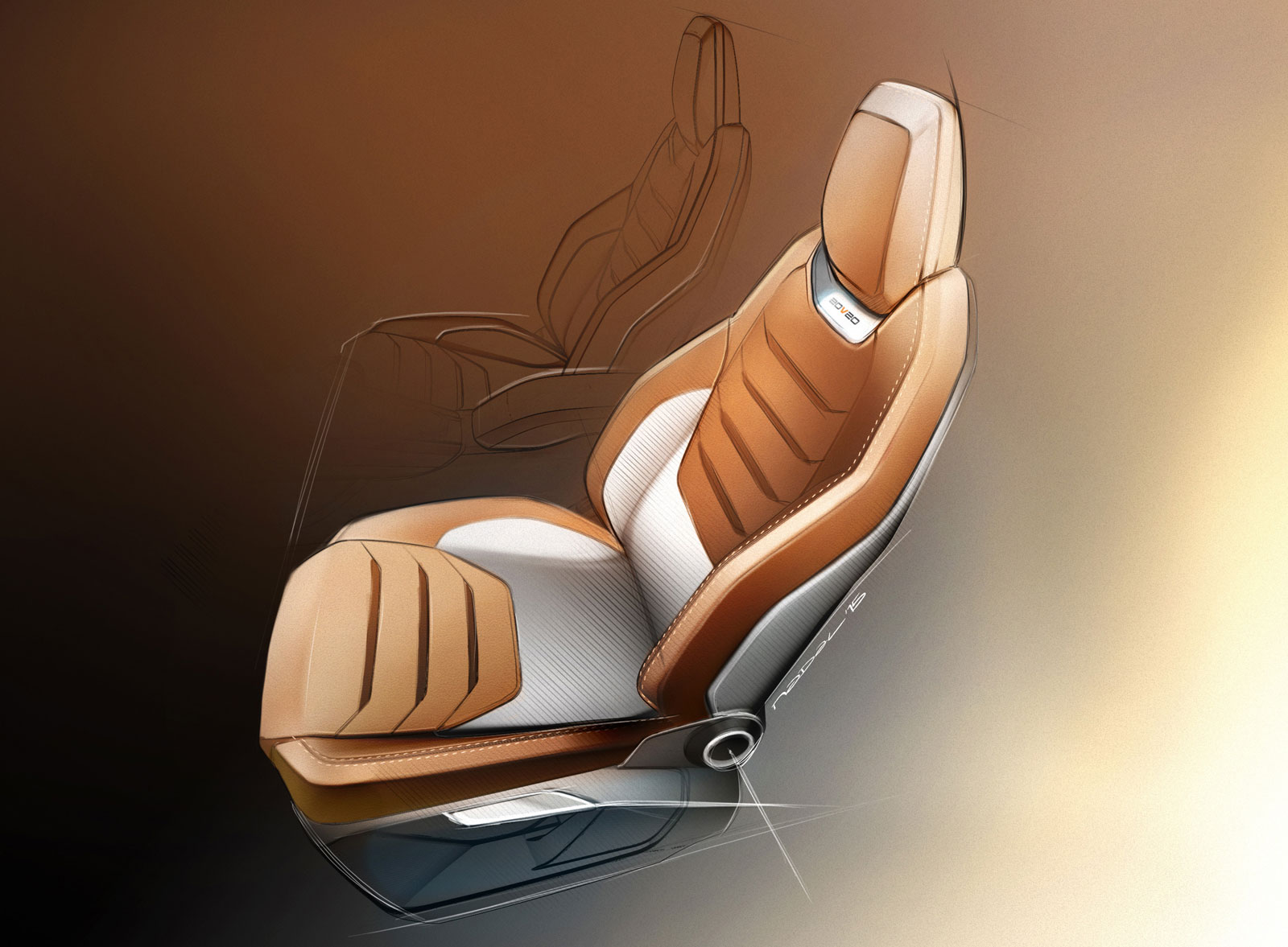 seat 20v20 concept interior design sketch seat car body design. Black Bedroom Furniture Sets. Home Design Ideas