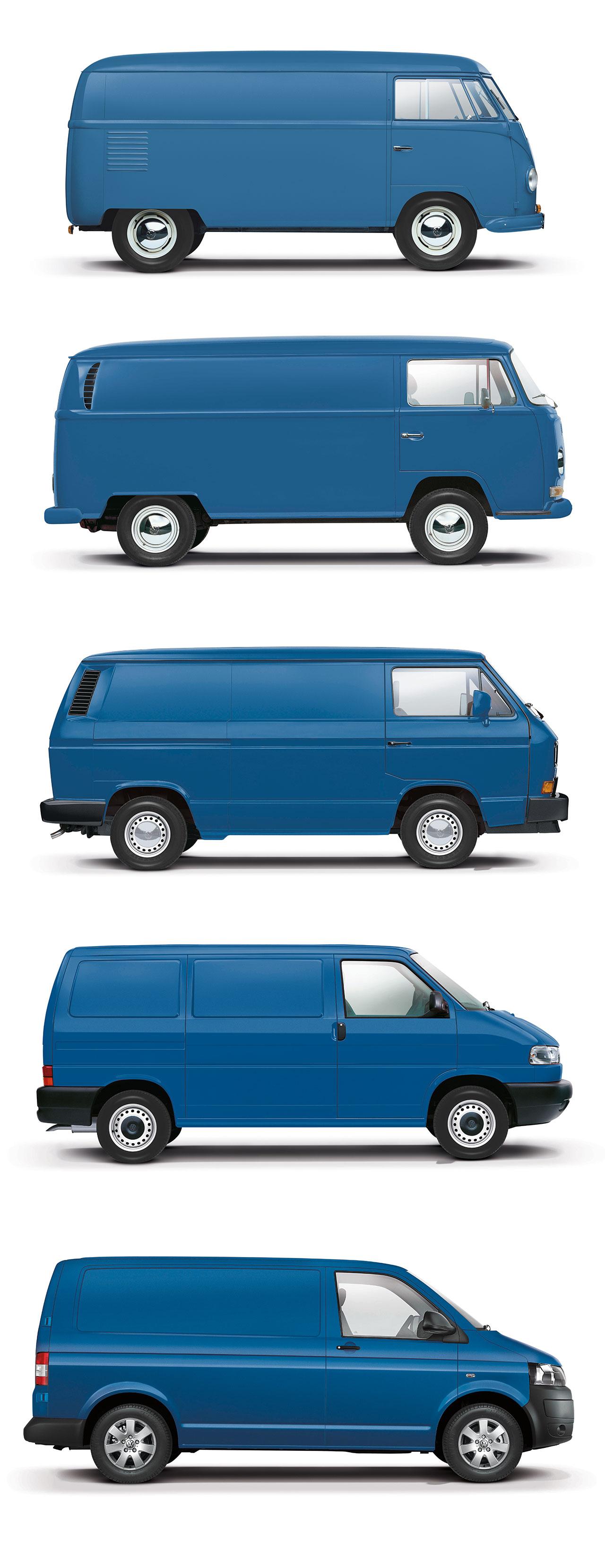 Sixth-gen Volkswagen Transporter previewed in design render - Car Body