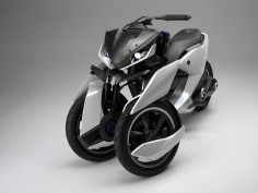 Yamaha presents 03GEN three-wheel scooter concepts