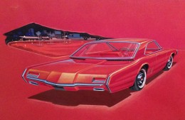 1963 Ford Concept - Design Sketch Illustration by Rodell Smith