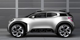 Citroen AirCross Concept Digital Design Sketch Render