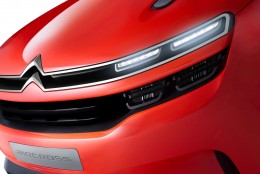 Citroen AirCross Concept Front grille and headlight