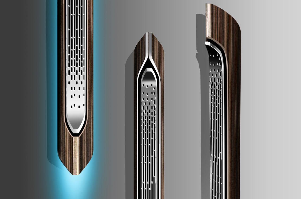 Ford Design Audi Speaker Concept Design Sketch Render