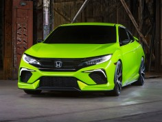 Honda previews tenth-gen Civic with sporty concept
