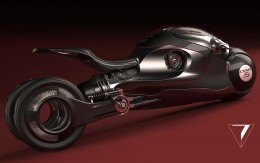 Jet Engine Motorbike Concept by Epta Design