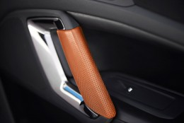 Peugeot 308 R HYbrid Concept Interior - Door panel detail