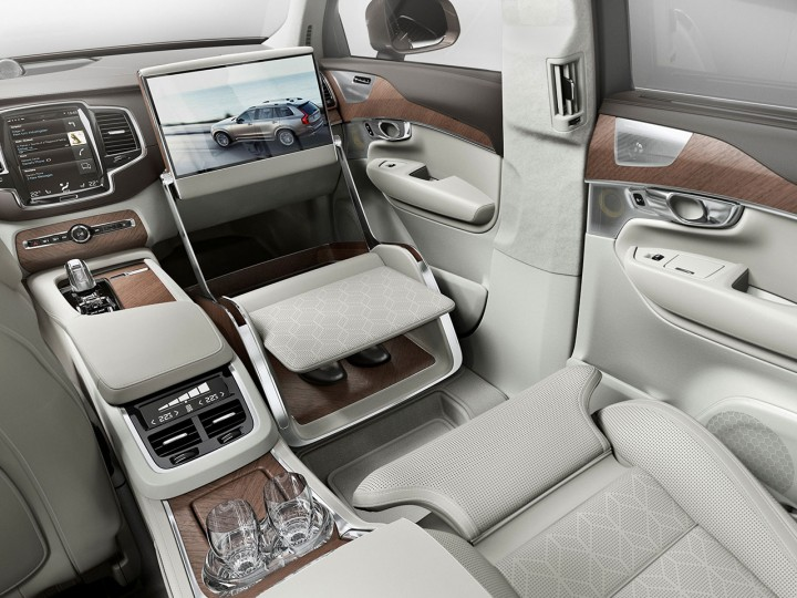 volvo xc90 excellence lounge console interior concept car body design. Black Bedroom Furniture Sets. Home Design Ideas