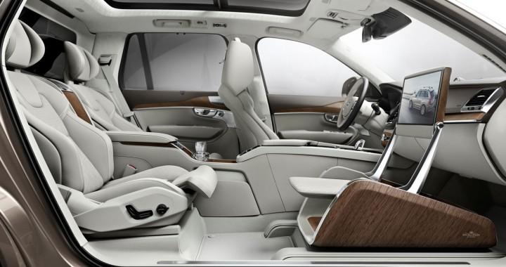volvo xc90 excellence lounge console interior concept car body design. Black Bedroom Furniture Sets. Home Design Ideas