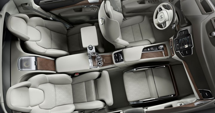 Volvo Xc90 Excellence Lounge Console Interior Concept Car Body Design