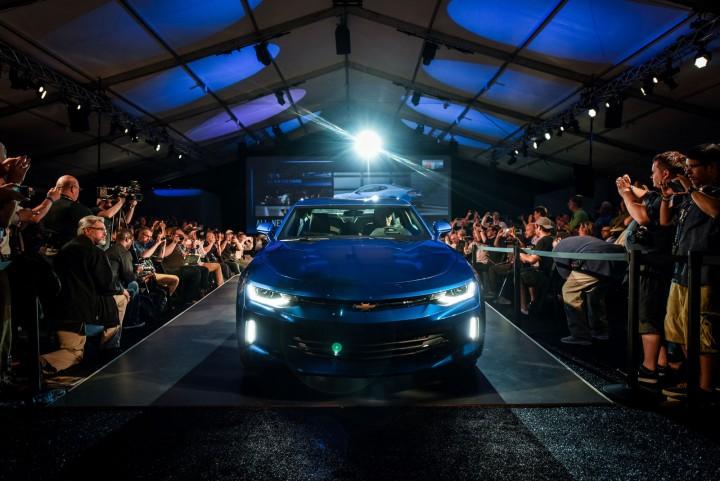 2016 Chevrolet Camaro debut