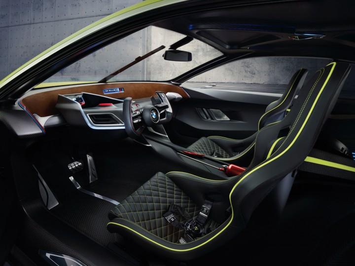 BMW 3.0 CSL Hommage Concept Interior