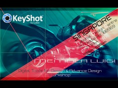 Keyshot announces Singapore Advanced Design Workshop with Luigi Memola