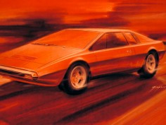 Automobile Design History - Drawings and Renders
