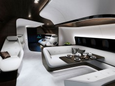 Mercedes partners with Lufthansa to design executive jet cabins