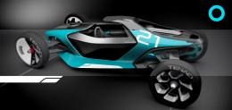 RCA Vehicle Design Lab 2015 - ThenwoodConcept Design 3D Render