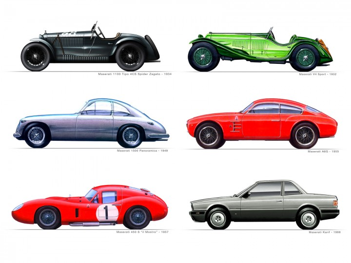 Zagato And Maserati History And Gallery Page 3 Car Body Design