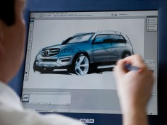 Mercedes-Benz GLK: design gallery