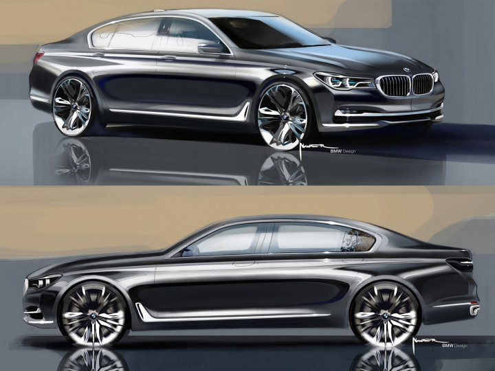 The New BMW 7 Series: Evolutionary Design And High Tech Features