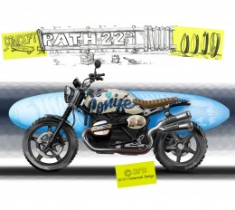 BMW Concept Path 22 - Design Sketch Illustration