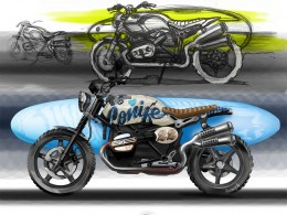 BMW Concept Path 22 - Design Sketches