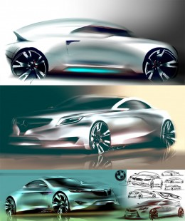 Concept Design Sketches by Stoianov Sebastian Mihai