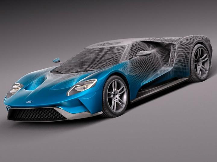 ford starts selling 3d models for rendering and 3d printing car body design. Black Bedroom Furniture Sets. Home Design Ideas