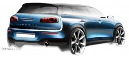MINI Clubman - Design Sketch