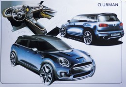 MINI Clubman - Design Sketches