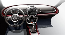 MINI Clubman - Interior Design Sketch