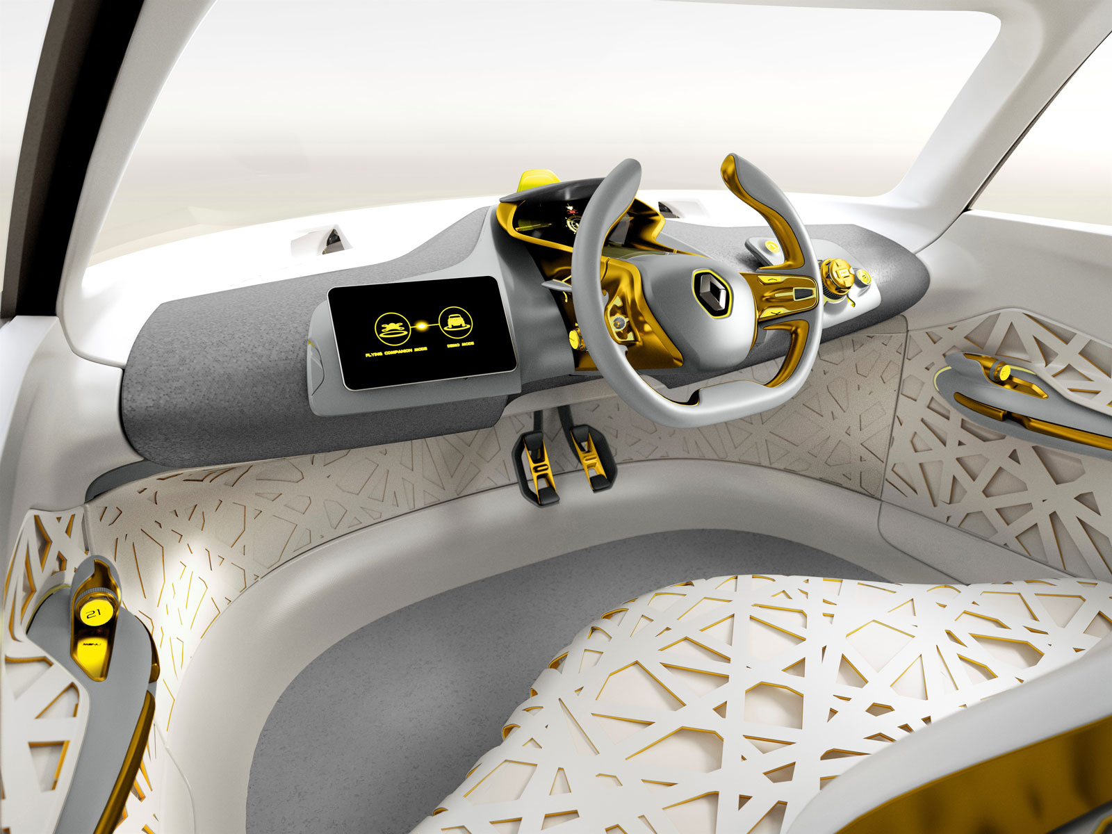 Renault Kwid Concept Interior Car Body Design