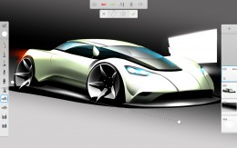 Sketchbook Pro Car Design Sketch