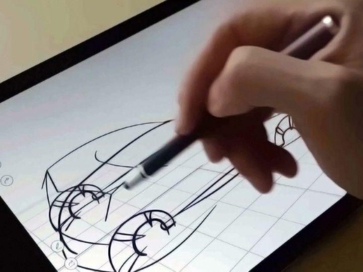 umake app brings 3d sketching experience to ios car body