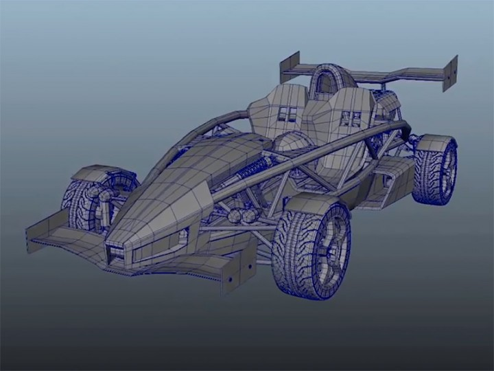 Ariel atom v8 3d modeling in maya car body design ariel atom v8 3d modeling in maya malvernweather