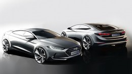 Hyundai Elantra Design Sketches