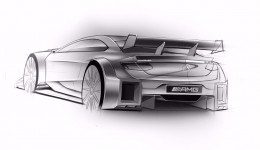 Mercedes-AMG C 63 DTM 2016 race car Design Sketch